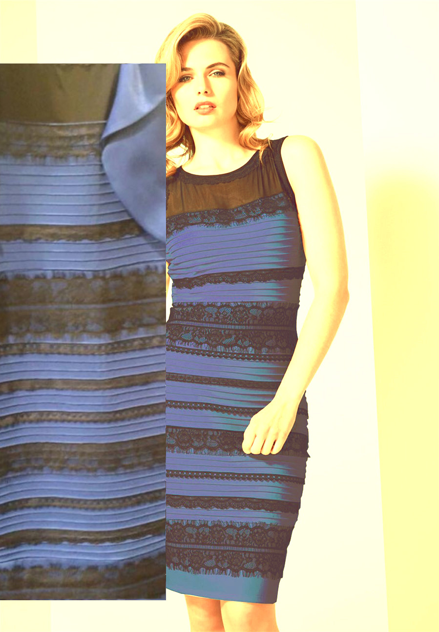Where to buy the blue and black dress